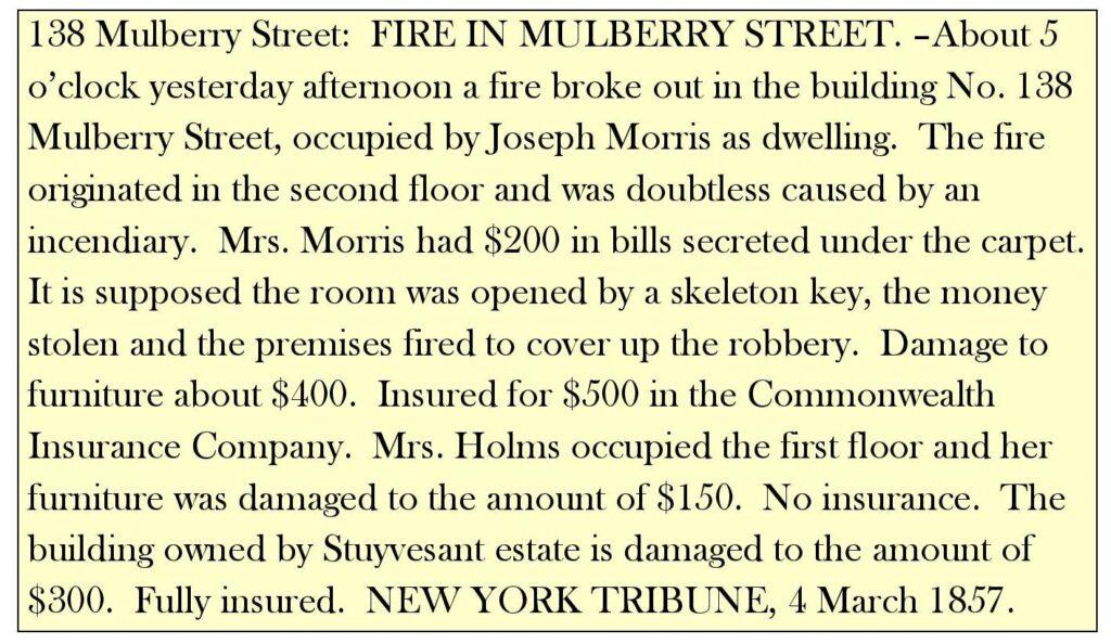 138 Mulberry Street