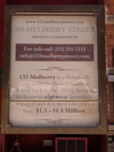 133-135 Mulberry Street (2014)