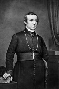 Archbishop John Hughes by Matthew Brady.