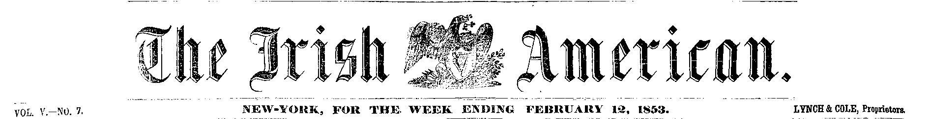 Irish American Weekly masthead-page-001