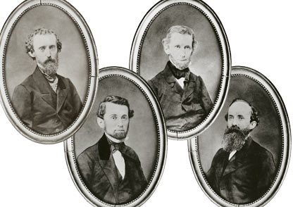 Elisha, Daniel, Edward, and John Brooks Source: http://myinwood.net/civil-war-era-inwood-the-brooks-brothers-connection/