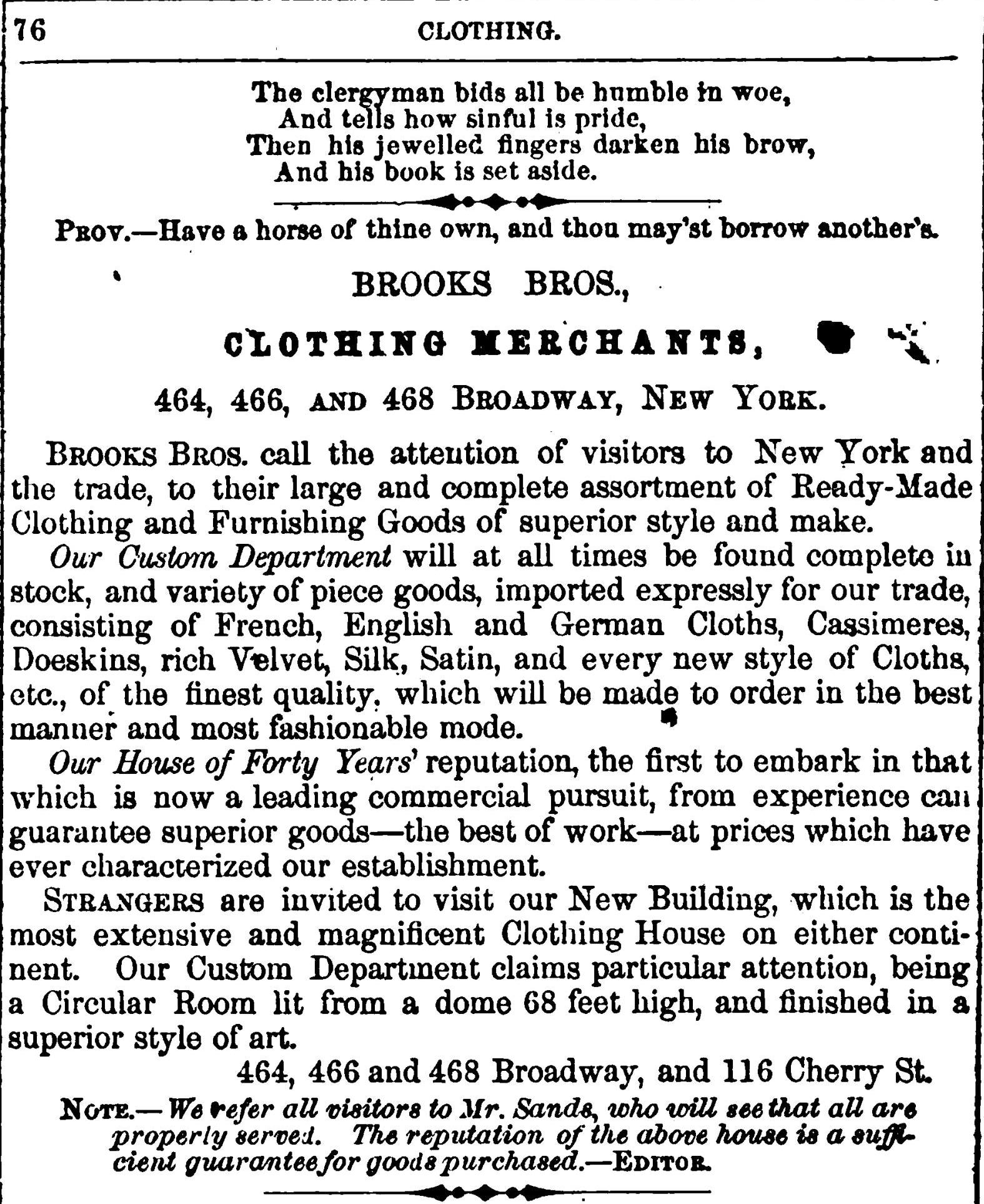 "Source: Carroll, G. Danielson. ""Carroll's New York City Directory."" (1859)"