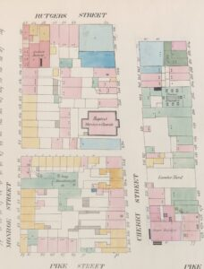 Perris Fire Insurance Map, New York City, Seventh Ward. (Plate 12 from NYPL Digital Map Collection.)