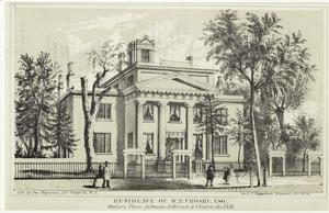 Wm. B. Crosby, Esq. Home bounded by Monroe, Cherry, Jefferson and Clinton Streets. (NYPL Digital Collections)